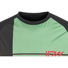 ION Traze AMP Cblock Bike Jersey Shortsleeve Men green/black